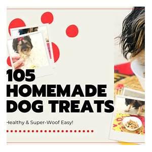 105-homemade-dog-treat-recipes-healthy-super image
