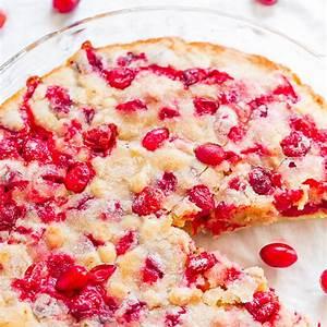 crustless-cranberry-pie-recipe-so-easy-averie-cooks image