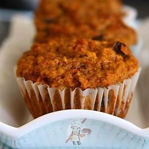 high-fiber-carrot-bran-muffins-recipe-eggless-cooking image
