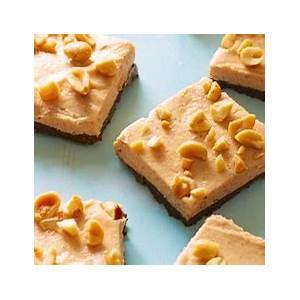 healthy-no-bake-chocolate-peanut-butter-bars image