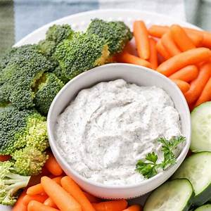 dill-vegetable-dip-made-in-5-minutes-lil-luna image
