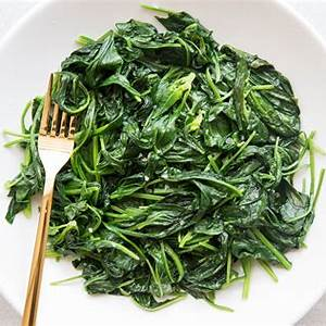 quick-and-easy-sauteed-spinach image
