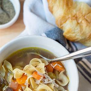 classic-hearty-chicken-noodle-soup-recipe-kelley-nan image