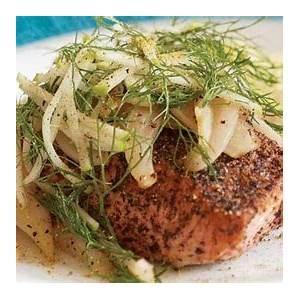 sear-roasted-salmon-with-honey-glazed-fennel image