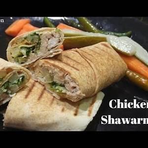 homemade-chicken-arabic-shawarma-dubai-kitchen-youtube image