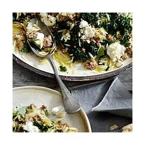 orzo-with-pork-silverbeet-and-feta-fast-greek image