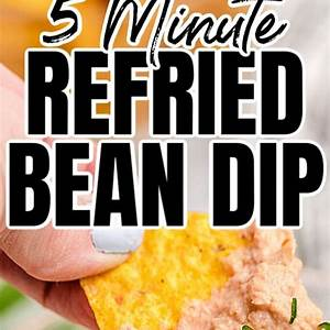5-minute-refried-bean-dip-just-4-thrifty-frugal-mom image