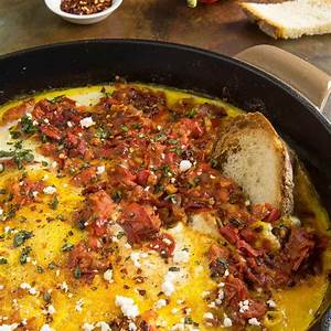 menemen-turkish-style-scrambled-eggs-with-peppers image