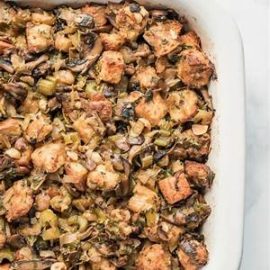 wild-mushroom-stuffing-recipe-girl image