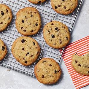 mini-chocolate-chip-currant-cookies-recipe-food-network image