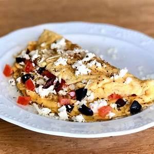greek-omelette-recipe-with-feta-cheese-my-greek-dish image