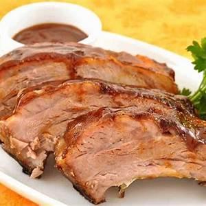bourbon-glazed-baby-back-ribs-recipe-mygourmetconnection image