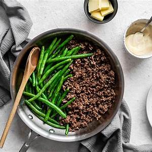 easy-one-pan-ground-beef-and-green-beans-ruled-me image