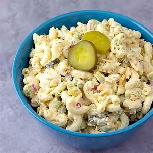 dill-pickle-pasta-salad-amandas-easy image