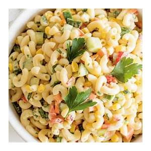 easy-picnic-pasta-salad-with-creamy-dressing image