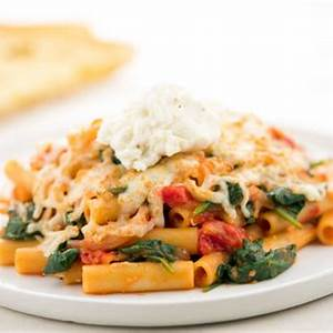 four-cheese-baked-ziti-recipe-home-chef image