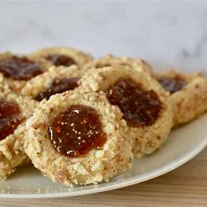 italian-thumbprint-cookies-fig-spread-almonds-this image