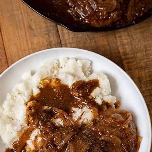 easy-cube-steak-with-gravy-recipe-dinner-then-dessert image