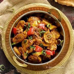 chilli-garlic-mushroom-10-mins-indian-side-dish-spices image