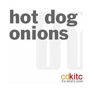 hot-dog-onions-recipe-cdkitchencom image
