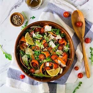 arugula-salad-with-lemon-balsamic-dressing-wellplatedcom image