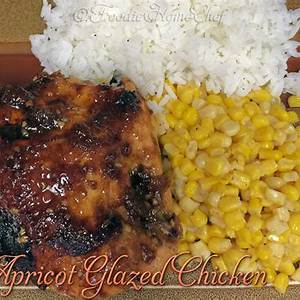 apricot-glazed-chicken-foodie-home-chef image
