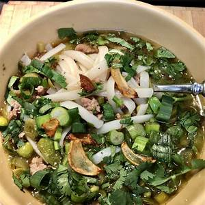 pork-noodle-soup-with-ginger-and-toasted-garlic image