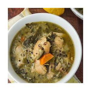 slow-cooker-chicken-quinoa-soup-with-kale-slender image