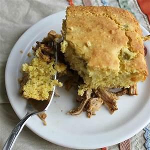 shredded-pork-cornbread-supper-pie-hungry image
