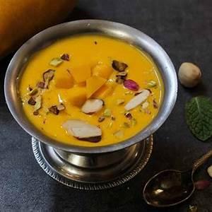 mango-phirni-recipe-mango-rice-pudding-by-archanas-kitchen image