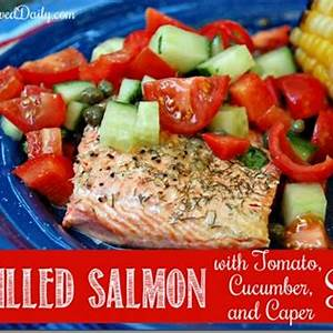 grilled-salmon-with-tomato-cucumber-and-caper-salsa image