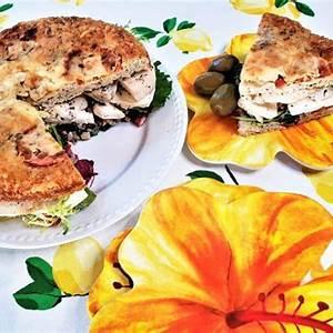 mediterranean-chicken-focaccia-sandwich-ingredients-for image