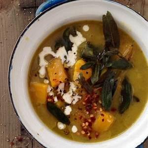 butternut-squash-leek-soup-recipe-with-crispy-sage image