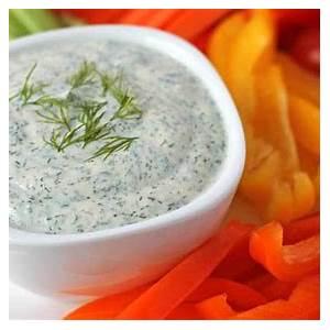 vegan-veggie-dip-quick-easy-and-delicious image
