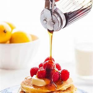 lemon-ricotta-pancakes-recipe-simply image