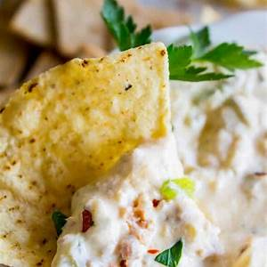 sausage-cream-cheese-dip-recipe-slow-cooker-the-food image