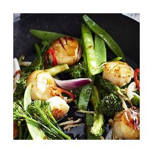 10-best-scallops-with-vegetables-stir-fry-recipes-yummly image