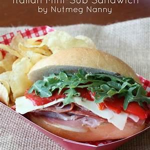 italian-mini-sub-sandwiches-with-homemade-sub-sauce image