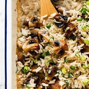 baked-mushroom-rice-recipetin-eats image