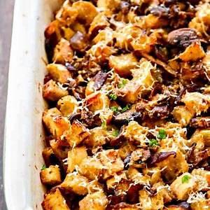 wild-mushroom-parmesan-thanksgiving-stuffing image