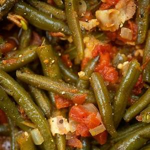 our-favorite-green-beans-with-bacon-tomatoes image