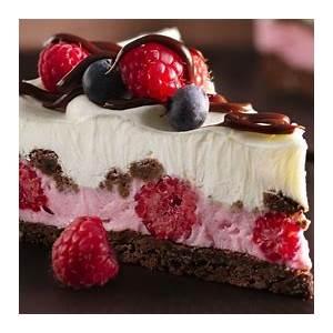 chocolate-and-berries-yogurt-dessert image