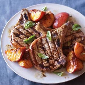 grilled-pork-chops-with-caramelized-williams-sonoma image