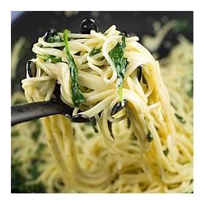 gorgonzola-spinach-spaghetti-creamy-spaghetti image