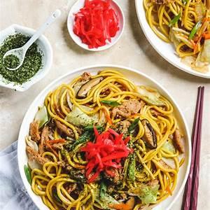 vegan-yakisoba-japanese-stir-fry-noodles-okonomi image