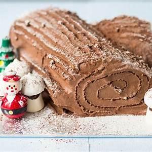 french-chocolate-buche-de-noel-yule-log image