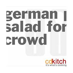 german-potato-salad-for-a-crowd image