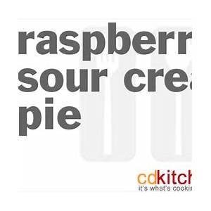 raspberry-sour-cream-pie-recipe-cdkitchencom image
