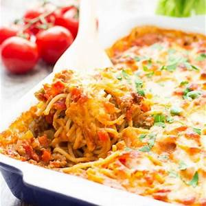 southwestern-spaghetti-pie-casserole-tasty image