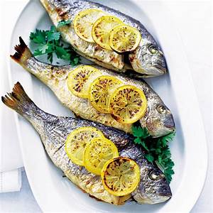 baked-sea-bream-with-lemon-and-parsley-dinner image